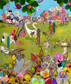 The Garden of Earthly Delight, Lynn Wright, 2007